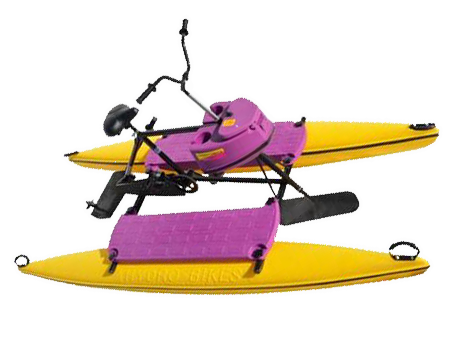 pink hydrobike vancouverboatrentals